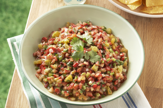 Salsa aux fraises et au piment jalapeno Image 1