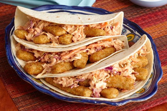 Sandwichs roulés aux bâtonnets de poisson Image 1