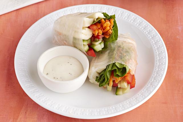 Salad Spring Rolls Image 1