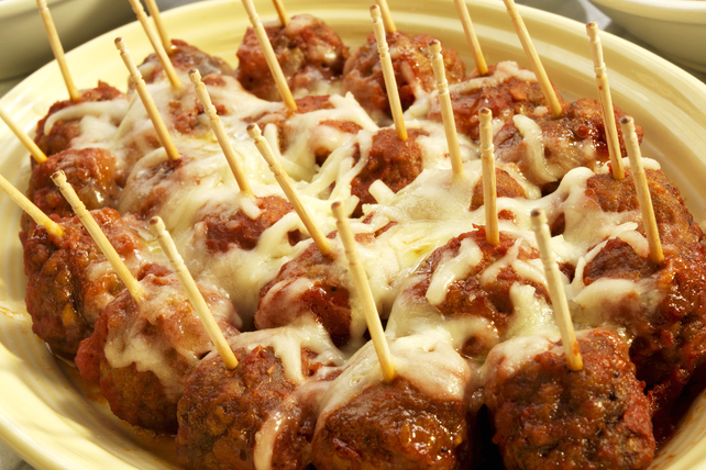 Cheesy Appetizer Meatballs Image 1