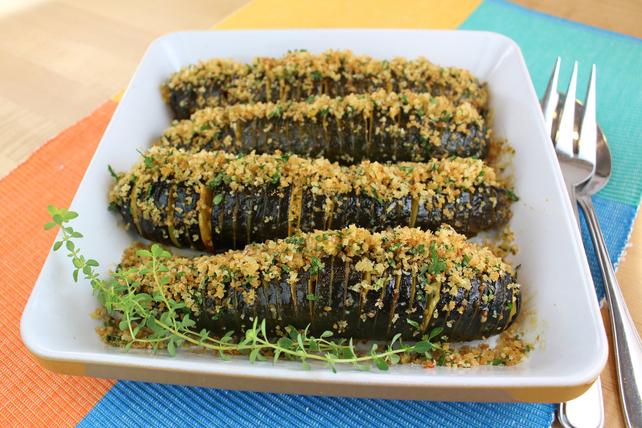 Zesty Hasselback Zucchini Image 1