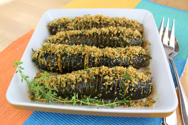 Courgettes Hasselback piquantes Image 1