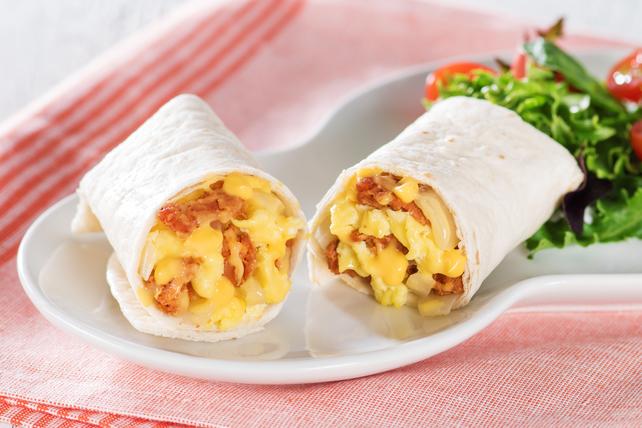 Cream Cheese & Chorizo Brunch Burritos Image 1