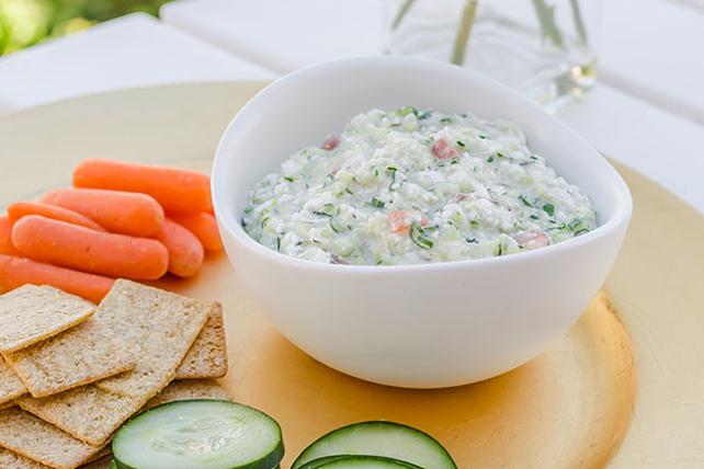 Trempette aux légumes et au fromage Image 1