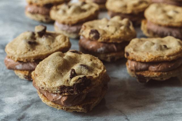Recette éclair de biscuits-sandwichs congelés Image 1