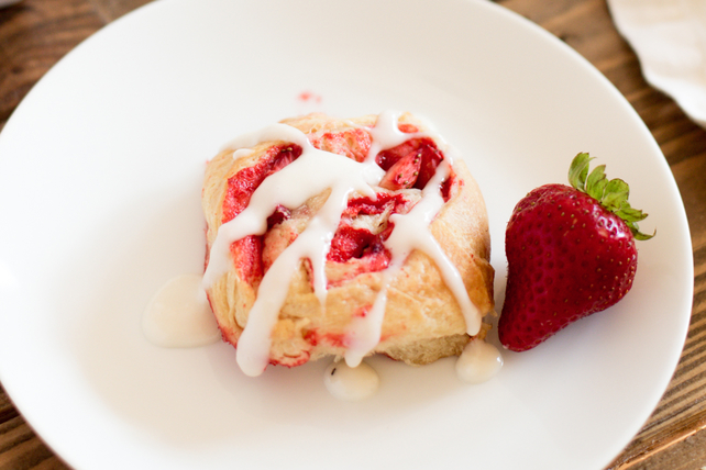 Brioches aux fraises fraîches Image 1