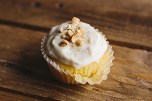 Easy Peanut Butter-Banana Cupcakes