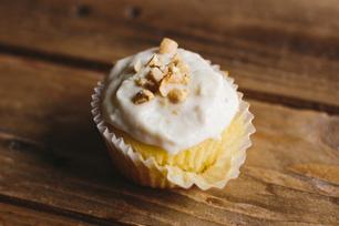 Petits gâteaux éclair au beurre d'arachide et à la banane