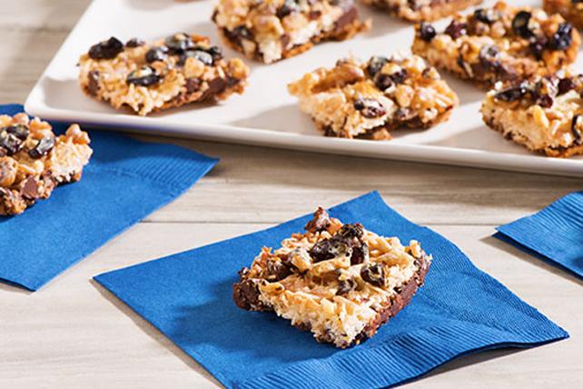 Barres au chocolat, aux pacanes et à la noix de coco Image 1