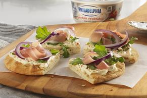 Prosciutto and Arugula Pitas