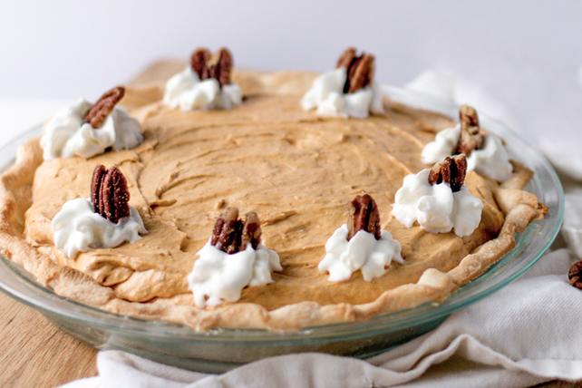 No-Bake Creamy Pumpkin Pie Image 1