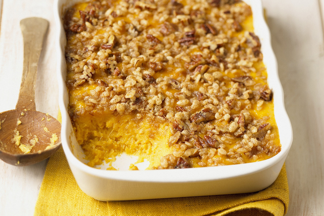 Cheesy Mashed Butternut Squash Bake with Crispy Topping Image 1