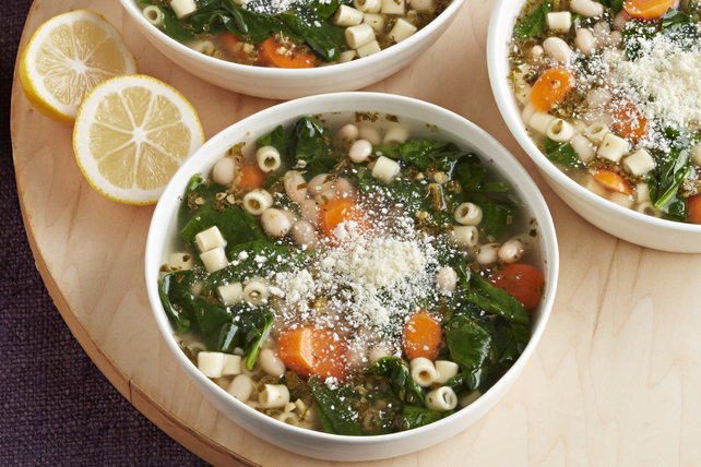 Soupe minestrone végétarienne à la mijoteuse Image 1