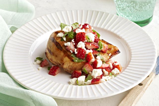 Poulet grillé et salsa aux fraises  Image 1