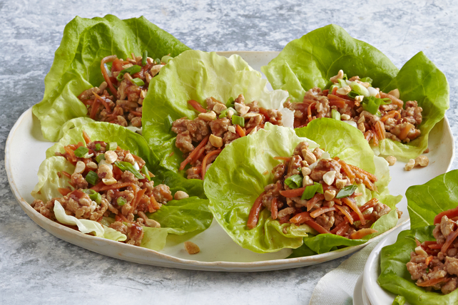 Easy Chicken Lettuce Wraps Image 1