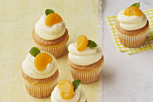 Triple-Orange Cupcakes