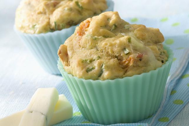 Muffins au fromage et à la semoule de maïs Image 1