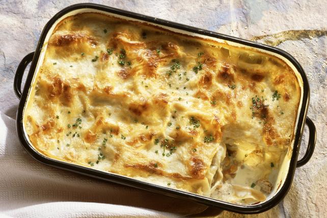 Lasagne aux fruits de mer crémeuse Image 1