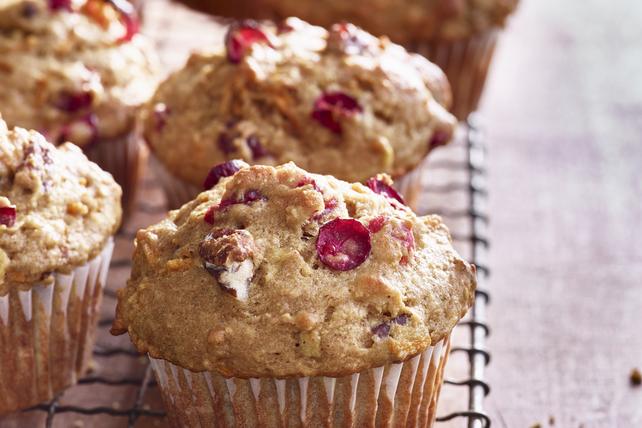 Muffins au beurre d'arachide et aux canneberges Image 1