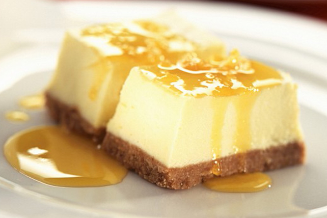 PHILADELPHIA Lemon-Maple Cheesecake Image 1