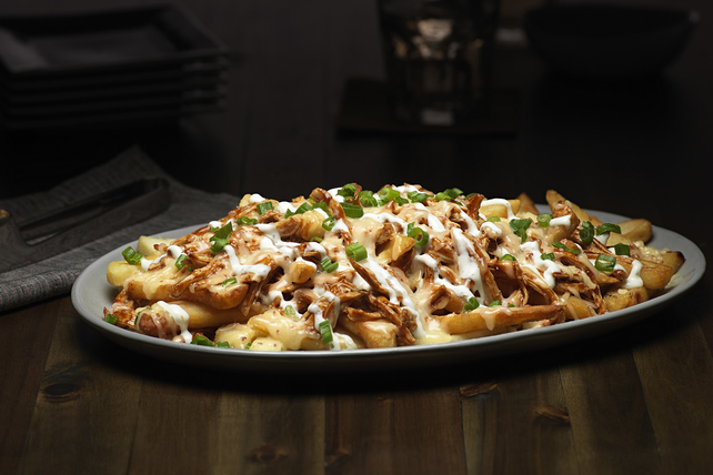 Smoky Bacon-BBQ-Ranch Cheese Fries Image 1