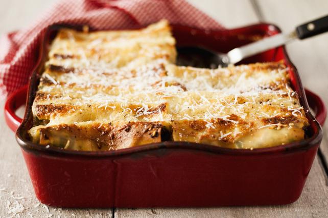Cannellonis au poulet au gratin Image 1
