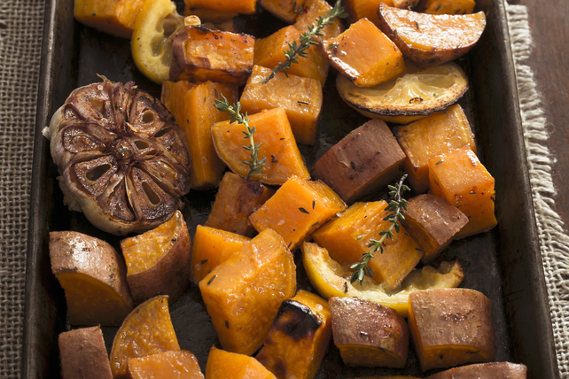 Roasted Sweet Potatoes Image 1