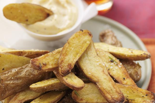 Pommes de terre Fingerling rôties avec trempette Image 1