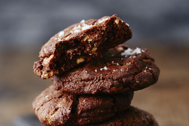 Biscuits choco-arachides avec une pointe de sel Image 1