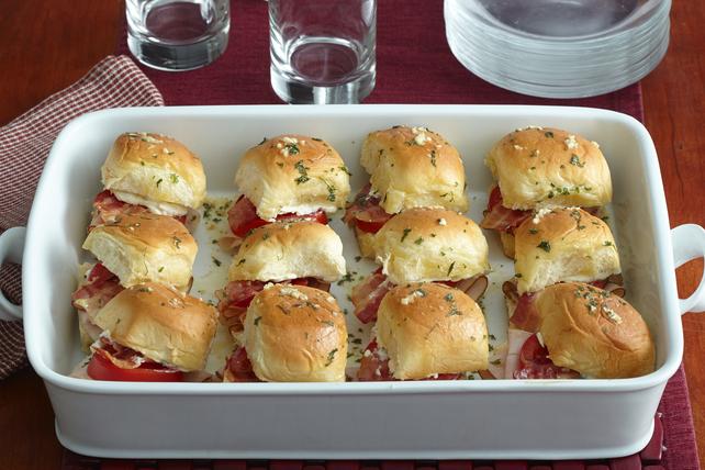 Mini Halftime Hawaiian Roll Sandwiches Image 1