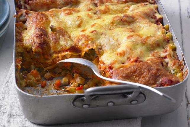 Lasagne au bœuf et aux légumes Image 1