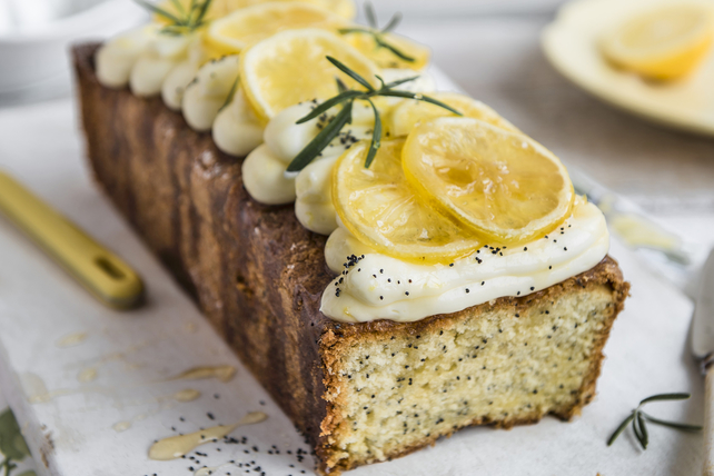 Lemon-Poppy Seed Loaf Cake Image 1