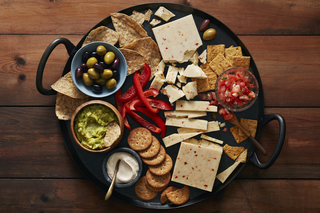 Fiesta Party Cheese Board Image 1