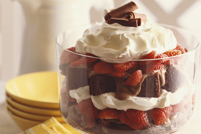 Strawberry-Chocolate Trifle Image 1