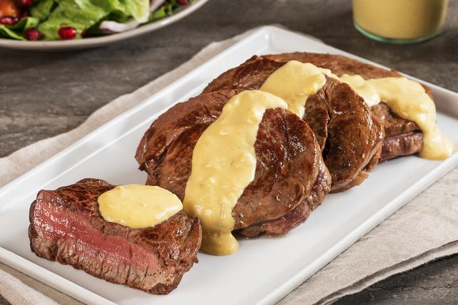 Filet mignon avec sauce dijonnaise Image 1