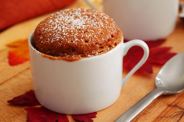 Pumpkin Spice Mug Cake Image 1