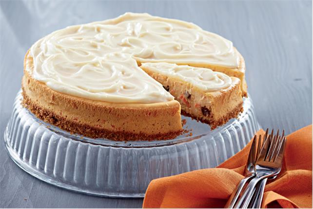 Carrot Cake Cheesecake with Raisins Image 1