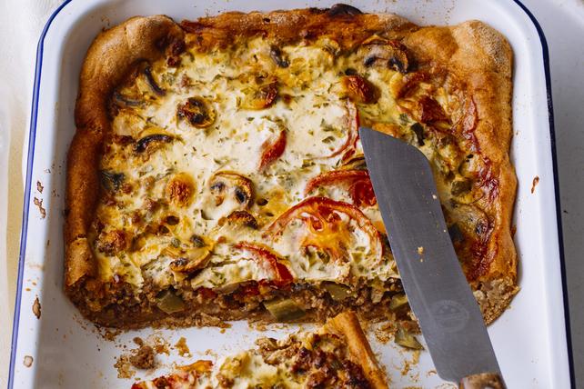 Casserole de pizza au bœuf Image 1