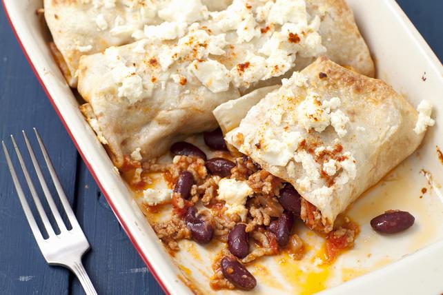 Enchiladas au bœuf et à la sauce chili Image 1