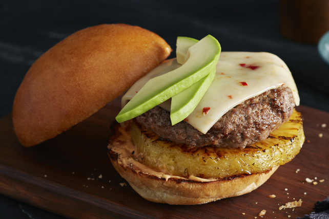 Spicy Jalapeno Cheeseburger Image 1