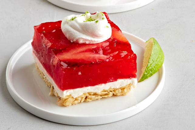 JELL-O® Strawberry Margarita Salad Squares