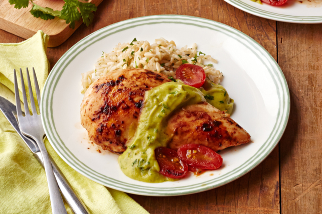 Chicken with Avocado Sauce Image 1