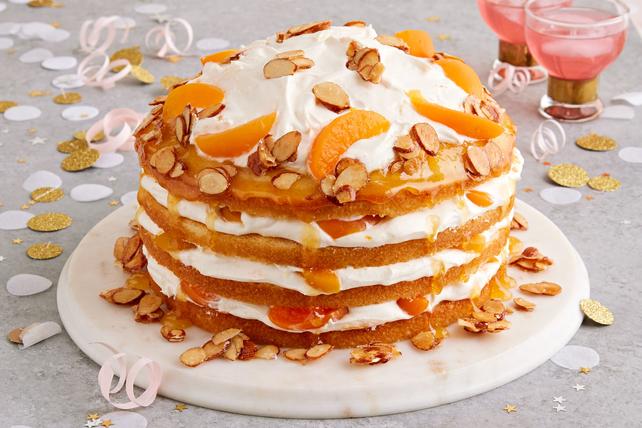 Apricot Almond Cream Cake Kraft Recipes