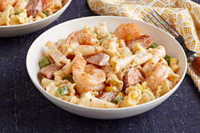 Cajun-Shrimp Pasta for Two