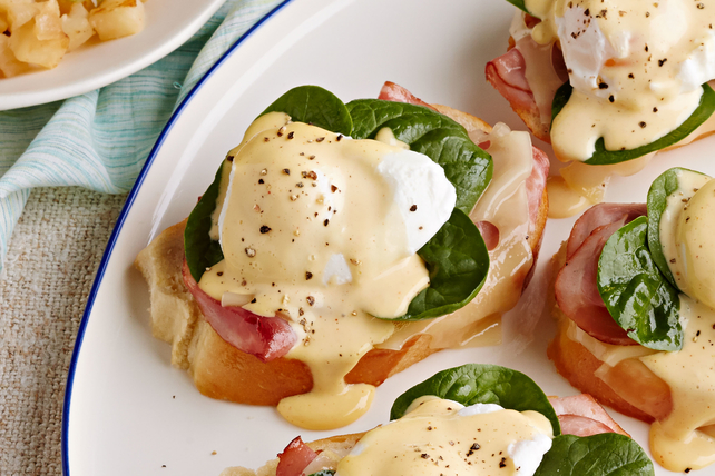 Brunch Eggs Benedict  Image 1