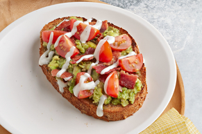 Bacon, Ranch and Avocado Toast
