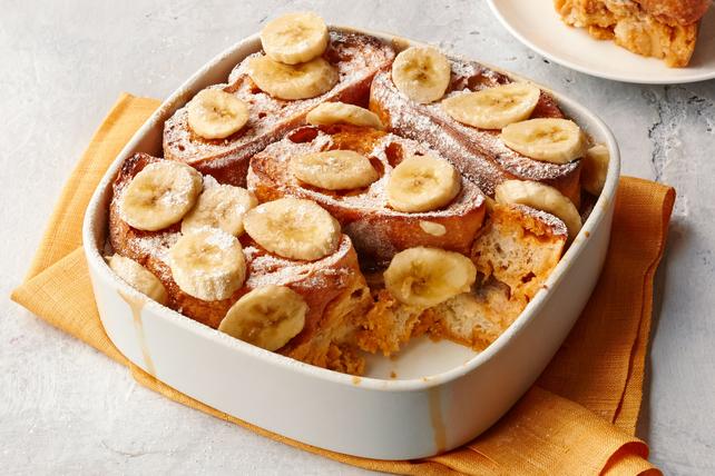 Caramel-Banana Stuffed French Toast Bake Image 1
