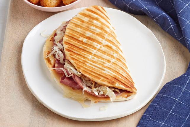 Grilled Reuben Flatbread Image 1