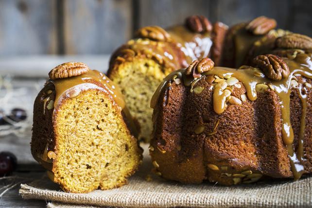 Gâteau aux épices et sauce au caramel Image 1