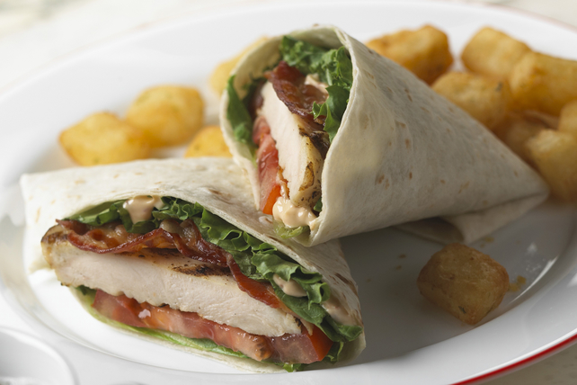 Chicken BLT Wraps Image 1
